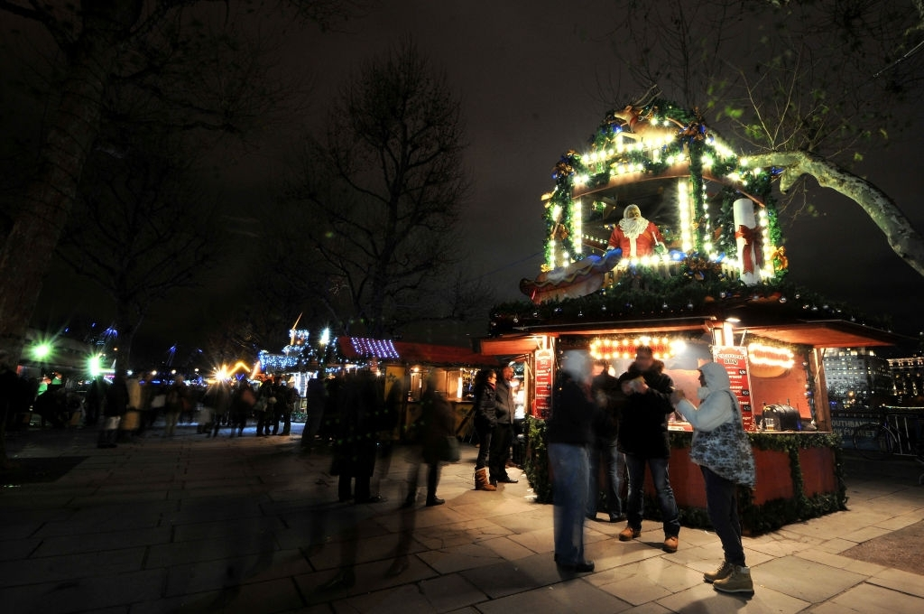 South Bank Winter Festival in London - Christmas Traditions in England